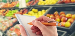 Meal plans and grocery lists make grocery shopping easy